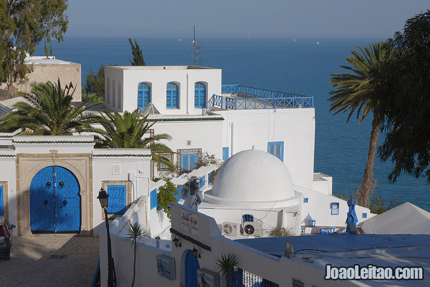 Sid Bou Said town in Tunisia