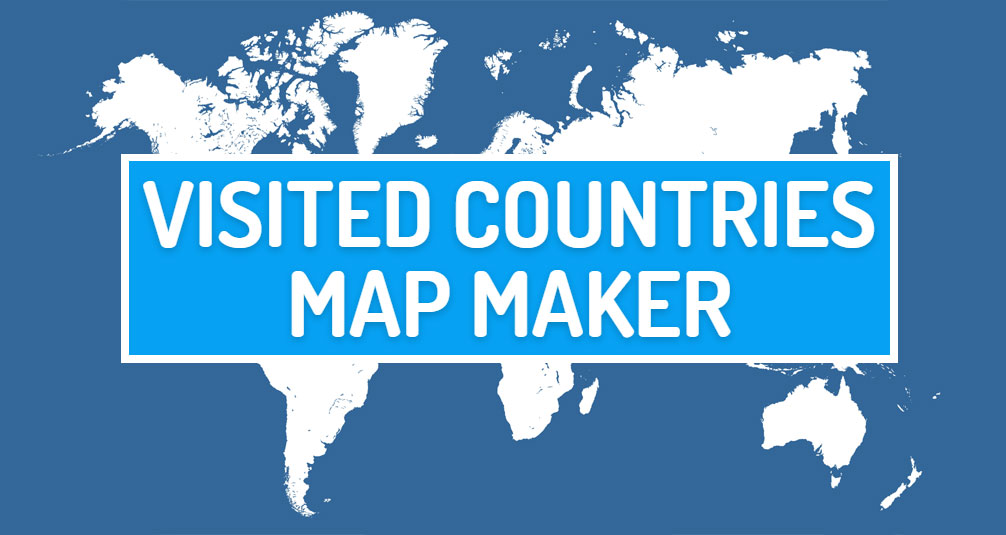 Visited countries map maker create your travel map visited countries map maker create your travel map gumiabroncs Choice Image