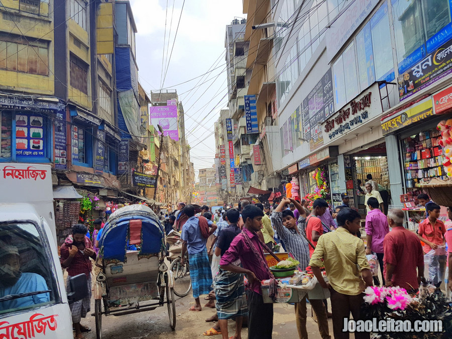 Bazar Babu em Daca