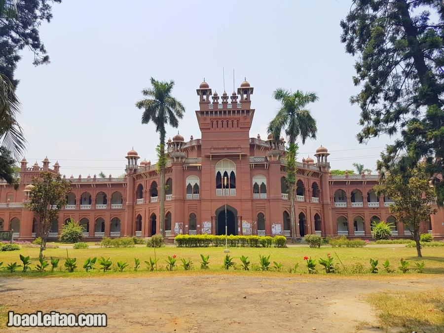 Curzon Hall in Dhaka