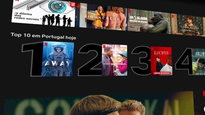 s´ºerie original portuguesa Netflix