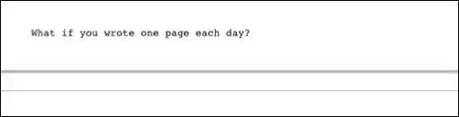 You are currently viewing Uma página por dia