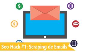 Seo hack - scraping de emails en facebook