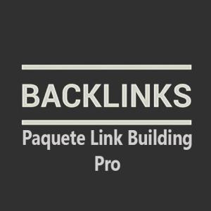 Paquete link building Pro