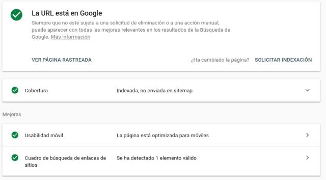inspeccionador de elementos de google console
