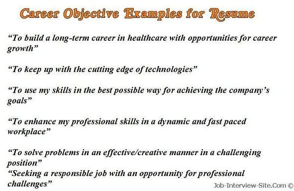 How To Write A Resume Summary That Grabs Attention Blue Sky Resume  Objective Examples Example Resume  Example Of Career Summary