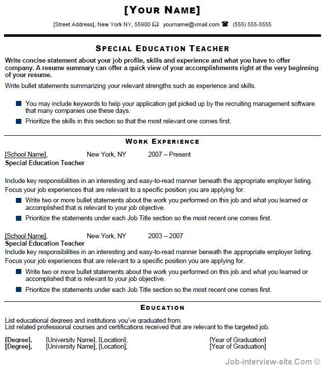 sample teacher resume fresher colorado leadership fund