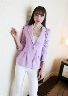 RE67001 coat purple $30.60