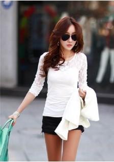 Sale HG5806 blouse white $13.50