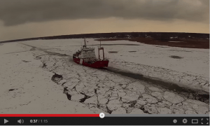 aerial footage of ice 1-12-15
