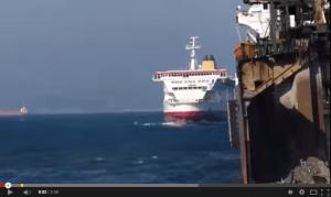 How to beach an ocean liner!