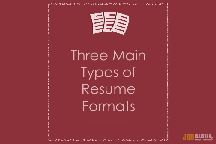 Types of resumes and their uses