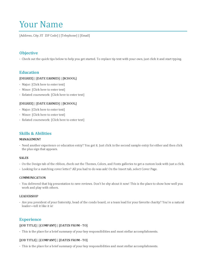 good resume format imeth co proper format of a resume my blog