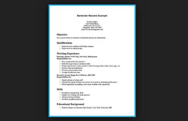 Creating a 5 Star Resume to Land That Dream Job   JobCluster com Blog resume example snapshot