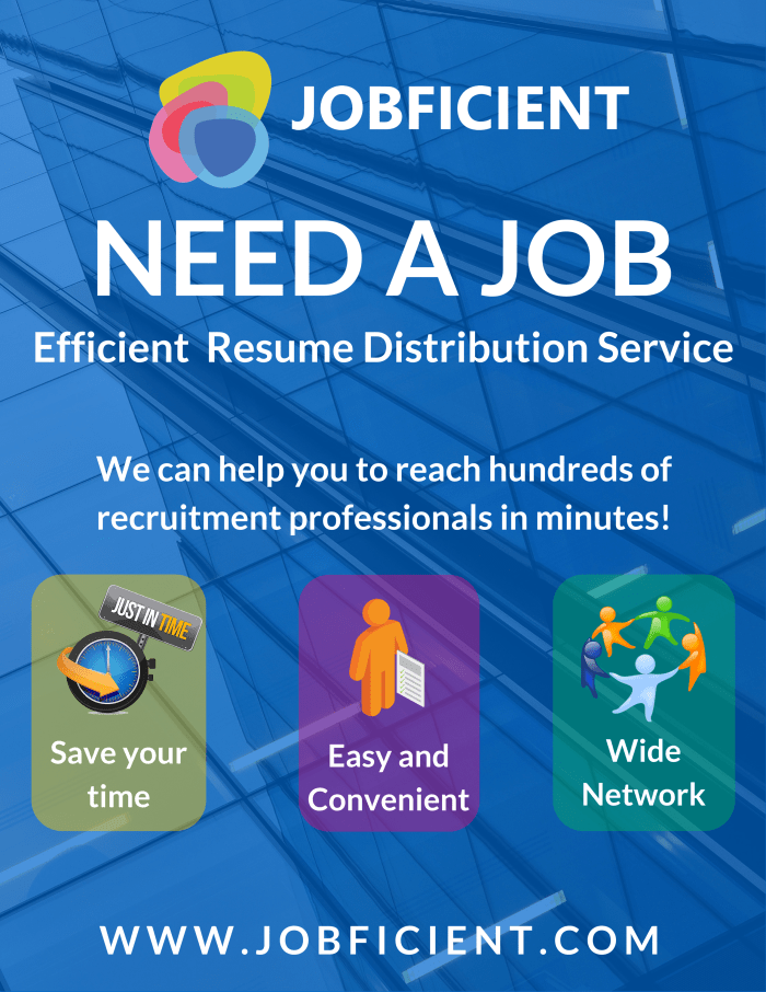 Poster For Job Search