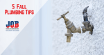 fall plumbing tips - frozen outdoor faucet with icicle