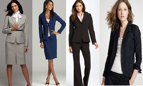 women interview attire