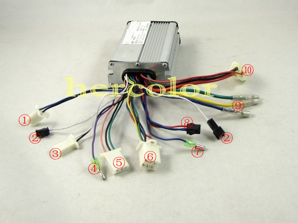 electric bike controller 36v wiring diagram  aio wiring