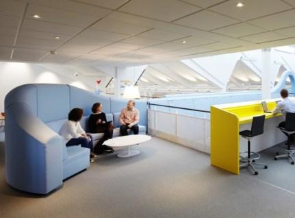 Sofá Lego oficinas