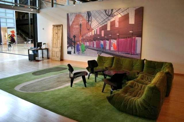 Foto de oficina de Pixar sala de estar