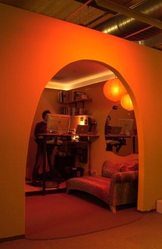 Oficinas de Pixar sala de trabajo