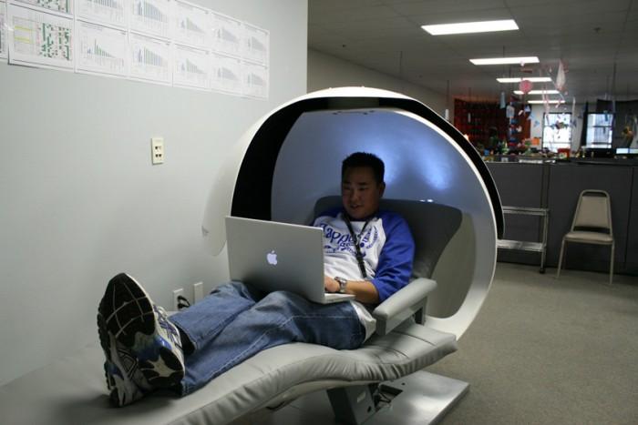 Trabajador Zappos oficinas