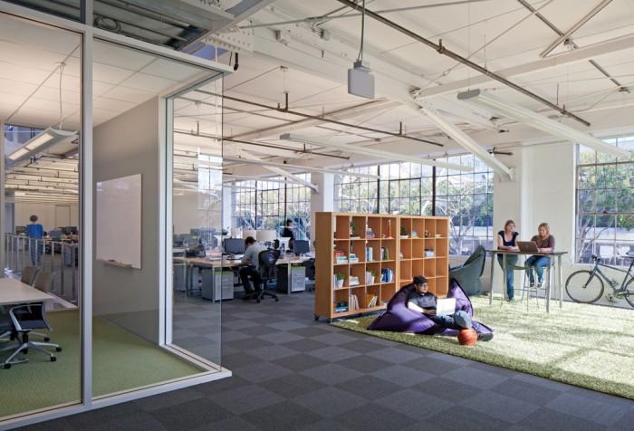 Espacios trabajo oficinas atlassian