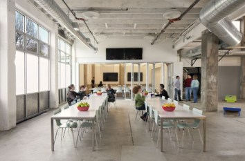 Atlassian oficinas comedor