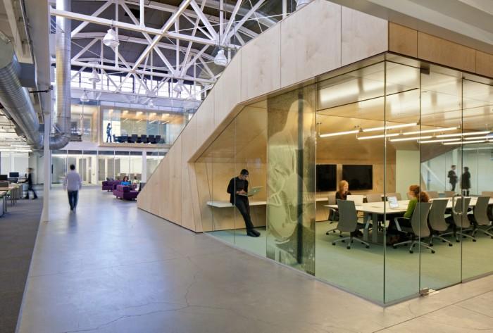 Sala de reuniones Atlassian oficinas