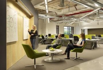 Sala de reuniones oficinas de Skype
