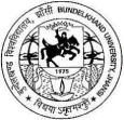 Bundelkhand University Entrance Exam Syllabus