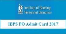 ibps probationary Officer admit card