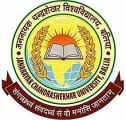 Jananayak Chandrashekhar University Exam Time Table