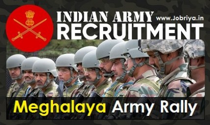 Indian Army Rally Meghalaya 2021 RO HQ Shillong Open Rally Schedule