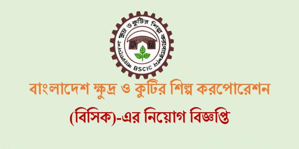 BSCIC Job Circular 2017