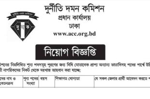 Anti Corruption Commission ACC Job Circular 2018