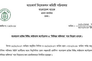 Bangladesh House Building Finance Corporation Job Exam Result 2018
