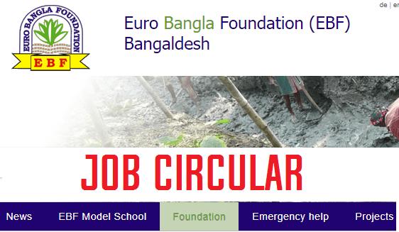 euro bangla foundation job circular