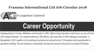 ACS Logistics job circular