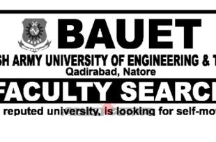 Bangladesh Army University of Engineering & Technology BAUET Job Circular 2019