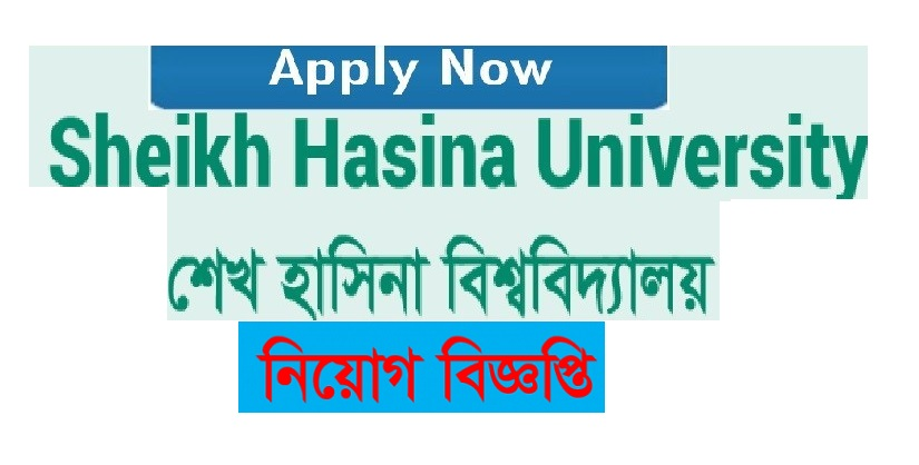 Sheikh Hasina University Job Circular 2019