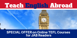 Online TEFL Course Offer