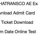 MAHATRANSCO AE Admit Card 2017 Download Exam Date Hall Ticket