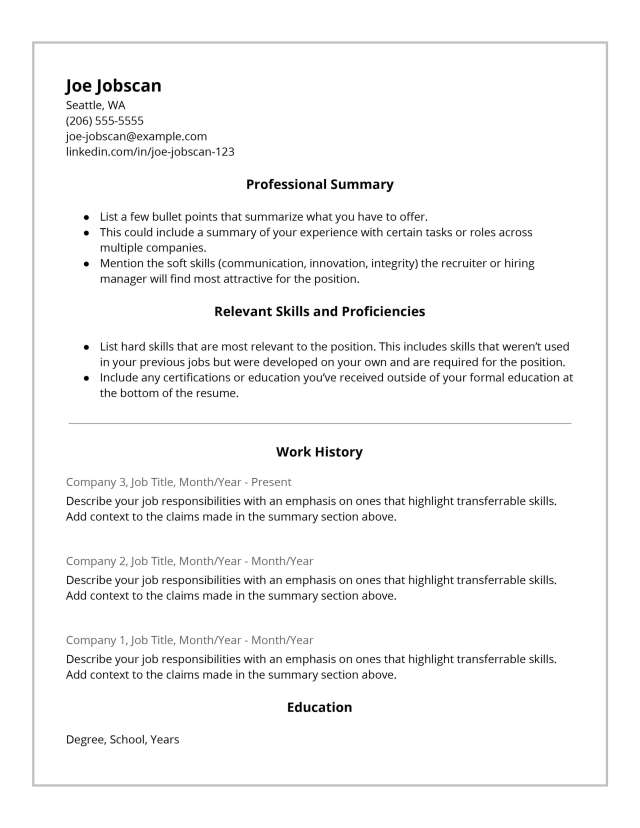 Recruiters HATE the Functional Resume Format—Do This Instead