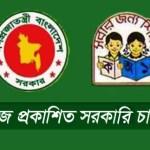 Bangla Newspaper Published Bd Govt Jobs Circular