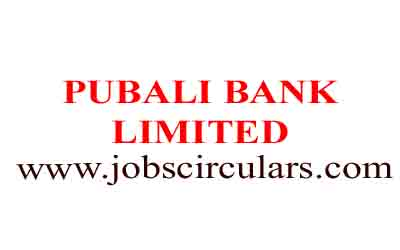 PUBALI BANK LIMITED | 2018 Job Circular | Bank Jobs
