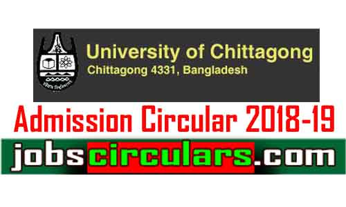 Chittagong University Admission 2018-19 | www.cu.ac.bd.