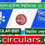 BUET Job Circular 2021