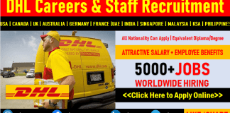 DHL Careers and Staff Recruitment Worldwide Multiple Job Vacancy Openings for Freshers and Experienced