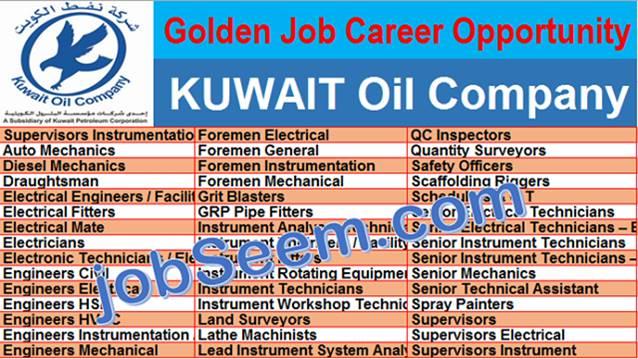 KUWAIT Oil Company Jobs | KOC Careers & Job Vacancies